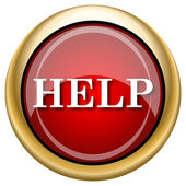 Help icon — Stock fotografie
