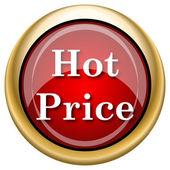 Hot price icon — Fotografia Stock