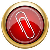Paperclip icon — Stockfoto