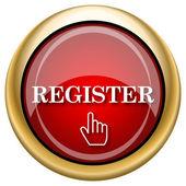 Register icon — Стоковое фото