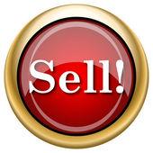 Sell icon — Stock Photo