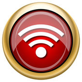 Wireless sign icon — Stock Photo