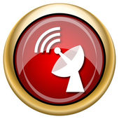 Wireless antenna icon — Stock fotografie