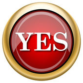 Yes icon — Stockfoto