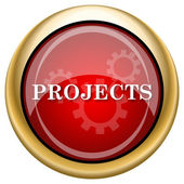 Projects icon — Foto de Stock