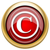 Copyright icon — Stock fotografie