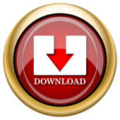 Download icon — Stockfoto