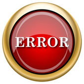 Error icon — Stock Photo