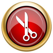 Cut icon — Foto de Stock