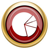 Chart pie icon — Photo