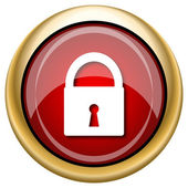 Lock icon — Stockfoto
