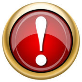 Attention icon — Stockfoto