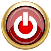 Power button icon — Stok fotoğraf