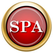 Spa icon — Foto de Stock