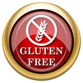Gluten free icon — Stock Photo