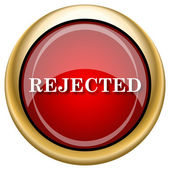 Rejected icon — Foto de Stock
