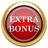 Extra bonus icon — Stockfoto