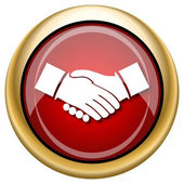 Vereinbarung-Symbol — Stockfoto