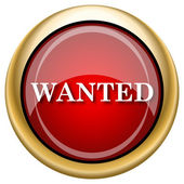 Wanted icon — Stock Photo