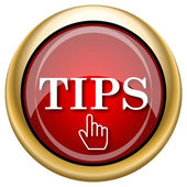 Tips icon — Stock Photo