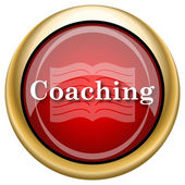 Coaching icon — 图库照片