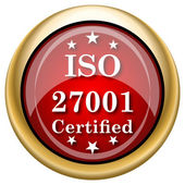 ISO 27001 icon — Foto de Stock