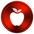 Apple icon — Stock Photo #34300127