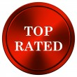 Stock Photo: Top rated icon