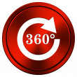 Stock Photo: Reload 360 icon