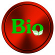 Bio icon — Stock Photo #34301431
