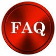 FAQ icon — Foto Stock