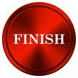 Stock Photo: Finish icon