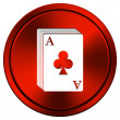 Stock Photo: Deck of cards icon