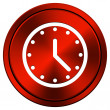 Clock icon — Stock Photo #34306033