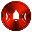 Bell icon — Stock Photo #34306695