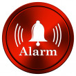Alarm icon — Stock Photo #34306709
