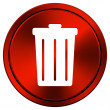 Stock Photo: Bin icon