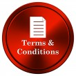 Terms and conditions icon — Stock Photo #34306965