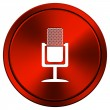 Stock Photo: Microphone icon