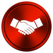 Agreement icon — Stockfoto