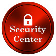 Security center icon — Stock Photo #34307809