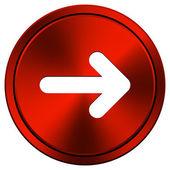 Right arrow icon — Stock Photo