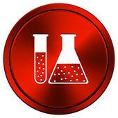 Chemistry set icon — Stock Photo