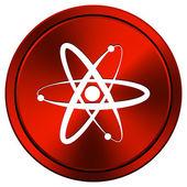 Atomer ikonen — Stockfoto