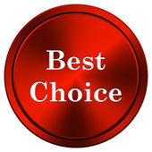 Best choice icon — Stock Photo