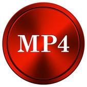 MP4 icon — Stock Photo