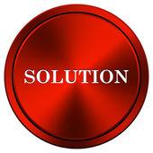 Solution icon — Stock Photo