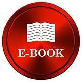 E-buch-symbol — Stockfoto