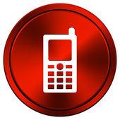 Mobile phone icon — Stock Photo