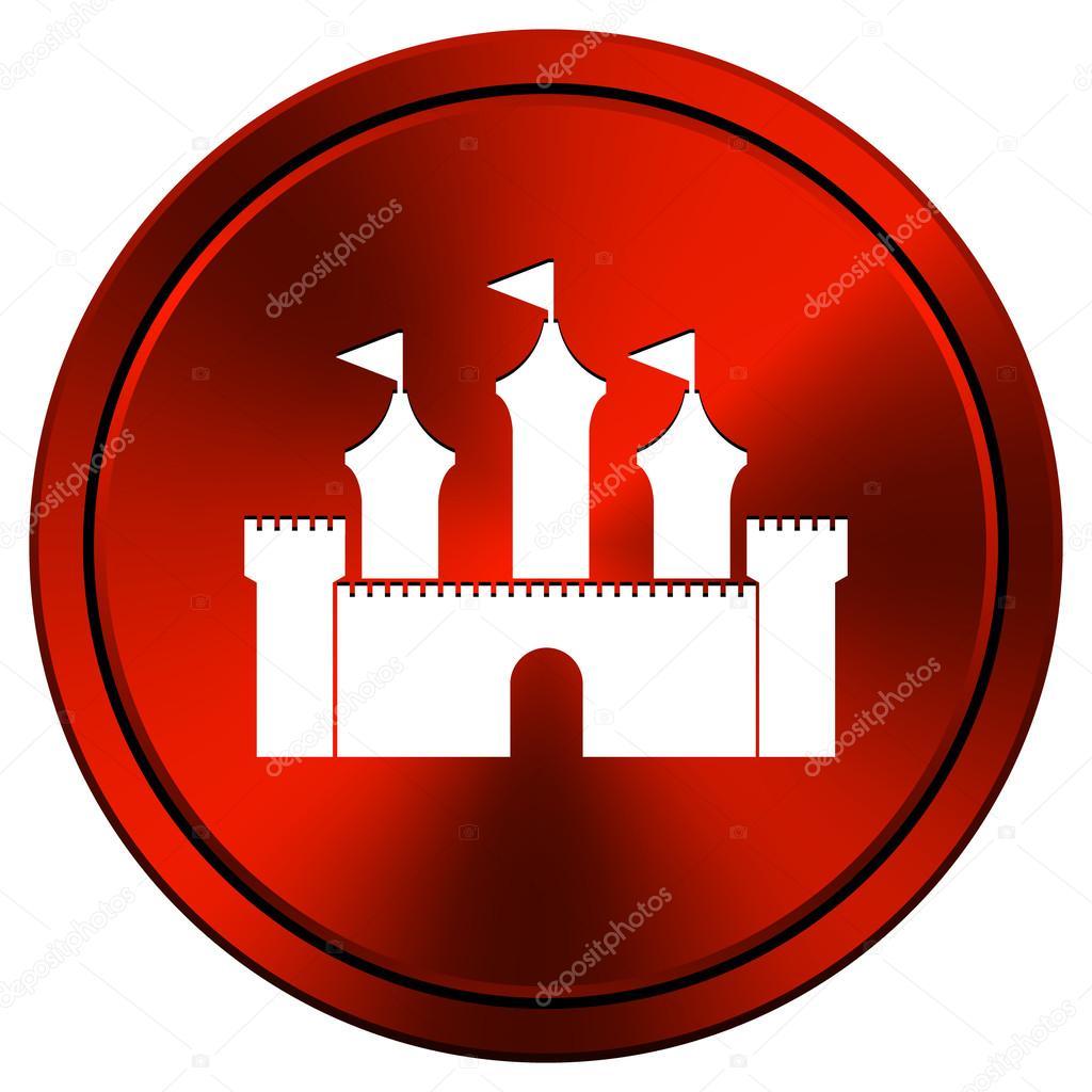 castle icon — stock photo © valentint #34306023